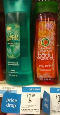 Kmart Herbal Essences Body Wash