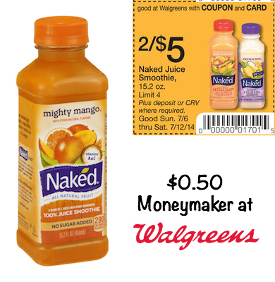 Naked Juice Moneymaker Walgreens