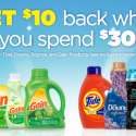 P&G Laundry Care Rebate (Get $10 Visa Card wyb $30)