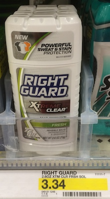 Right Guard Xtreme Clear
