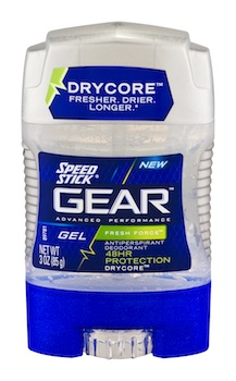 Speed Stick Gear Deodorant