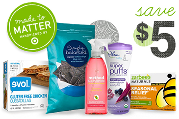 Target Made to Matter Coupon