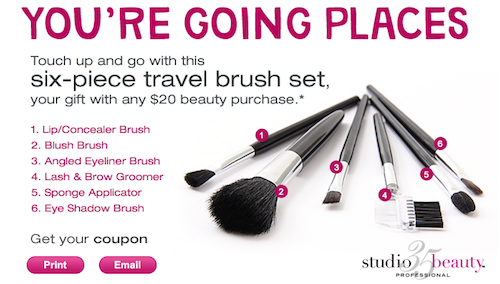 Walgreens Studio35 Brush Set