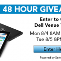 Enter to Win a Dell Venue Tablet!