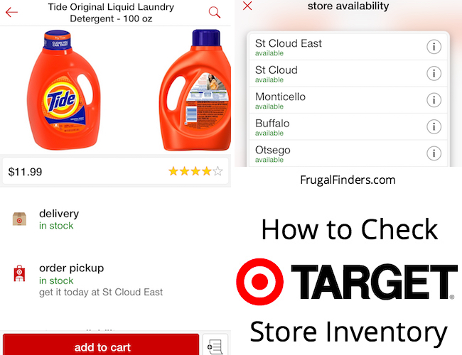 How to Check Target Store Inventory