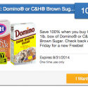 SavingStar: FREE Domino or C&H Brown Sugar