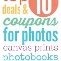 Top Ten Photo Deals