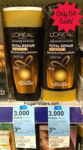 Walgreens Loreal Shampoo
