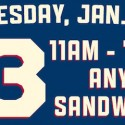 Erbert and Gerbert's: $3 Sandwiches (1/20 Only)