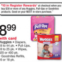 Walgreens Baby Deals: Pull-Ups As Low As $1.99 + FREE Wipes and More