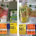Walgreens: Garnier Cleansers Clearance (Only 14¢ Each!)