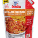 Target: FREE McCormick Sicilian Chicken Skillet Sauce