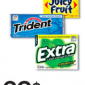 Juicy Fruit Gum Only $0.19 at Walgreens (Starting 1/10)