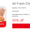 Save Up to 40% on Meat with Target Cartwheel