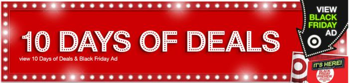 Target 10 Days of Deals