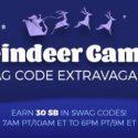 Reindeer Games Swag Code Extravaganza
